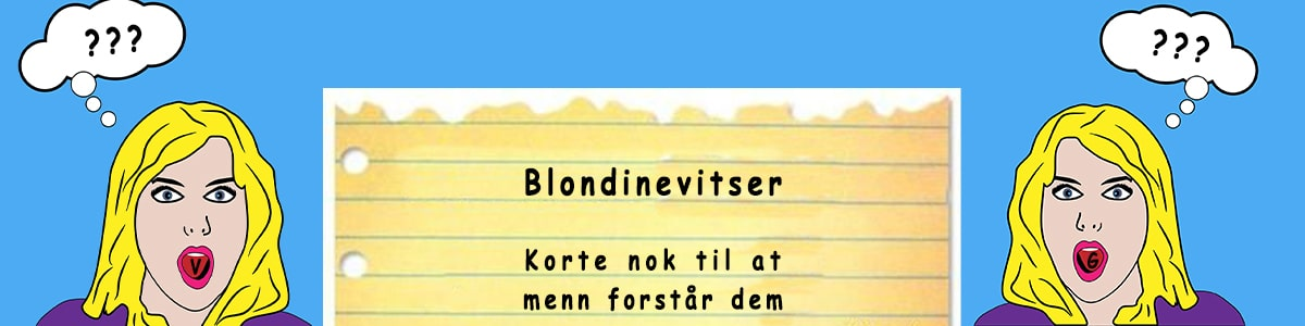 Bilde for kategorien blondinevitser